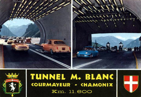 Tunnel mont blanc archive