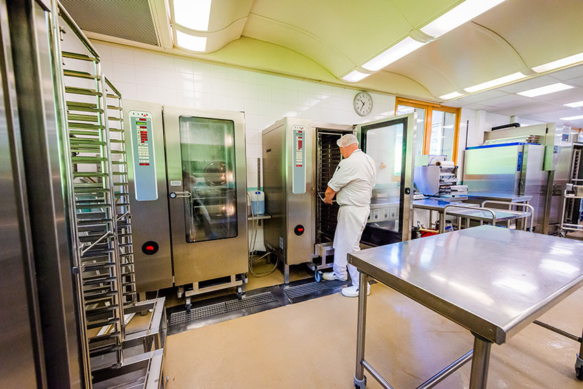 Travaux a la cuisine centrale de chamonix pendant l 39 ete for Cuisine centrale